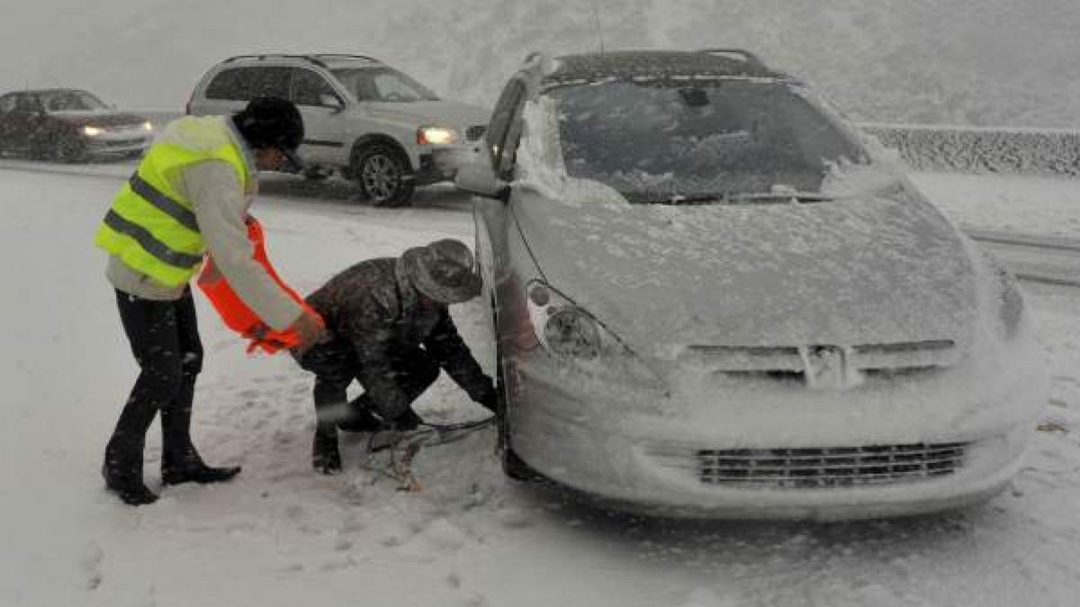 Conduccion en invierno prevencion