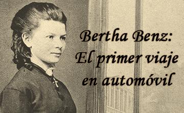 Bertha Benz: el primer viaje en automóvil