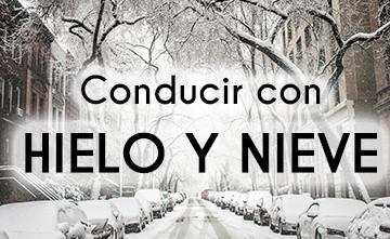 Conducir con hielo y nieve: consejos