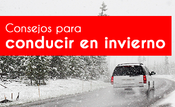 Conducción en invierno: prevención y prudencia