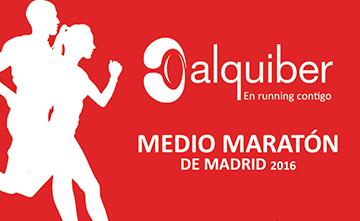 Runnea con Alquiber el Medio Maratón de Madrid