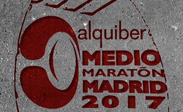Alquiber en el Medio Maratón de Madrid 2017