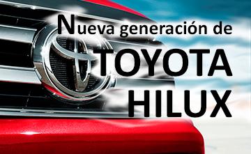 Nueva generación de Toyota Hilux