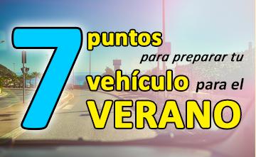 Pon a punto tu vehículo para el verano