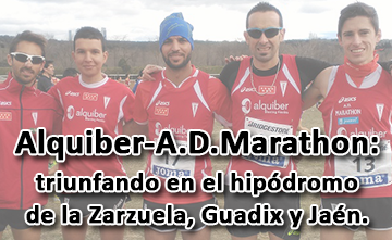 Club Alquiber-A.D.Marathon: Gana en hipódromo de la Zarzuela