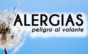 alergias peligro al volante
