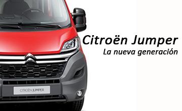 La nueva generación de Citroën Jumper