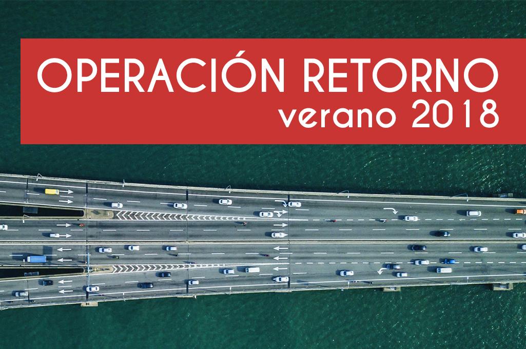 Operacion retorno verano 2018