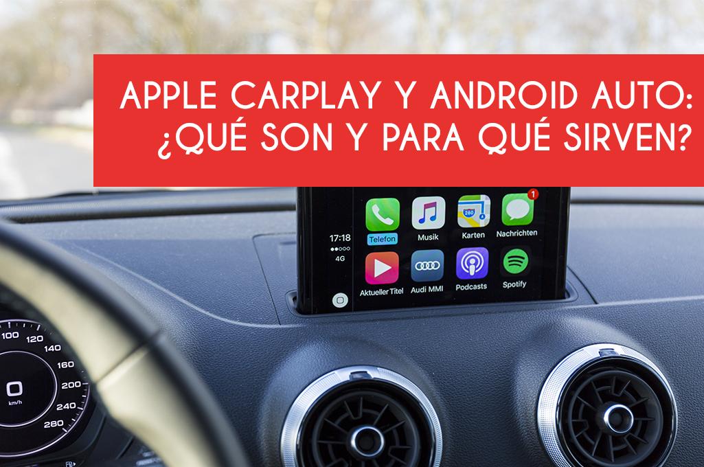 foto del artículo Apple Carplay y Android Auto: ¿qué son y para qué sirven?