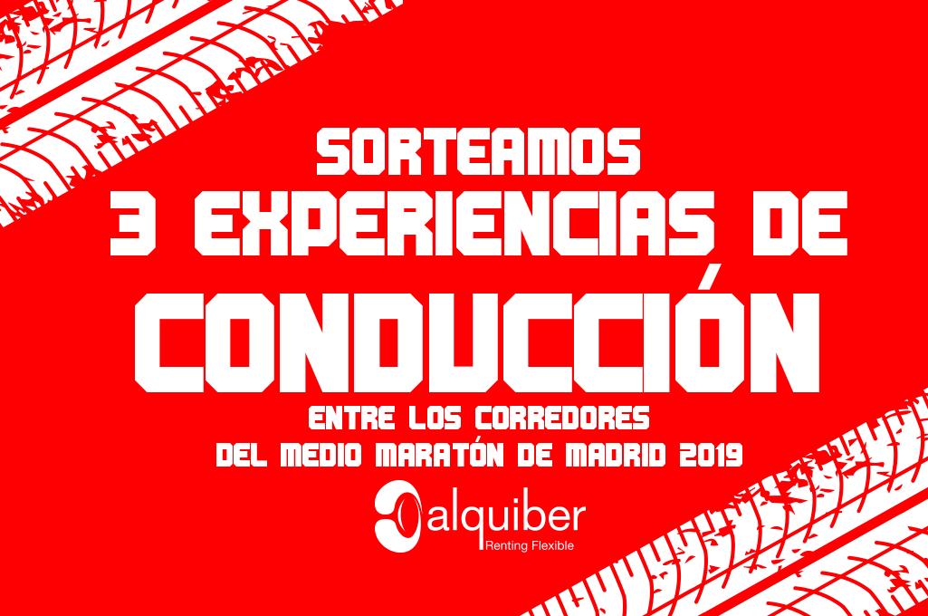 Condiciones del sorteo Alquiber entre los corredores del Medio Maratón de Madrid 2019