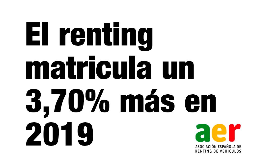 foto del artículo El renting matricula un 3,70% más hasta febrero de 2019