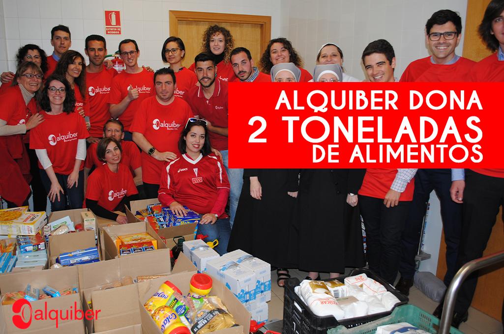 Donacion alimentos 2019