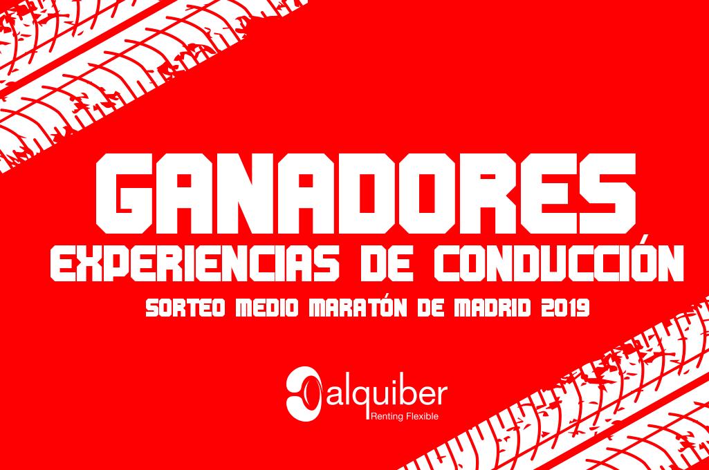 Ganadores del sorteo Medio Maratón de Madrid 2019