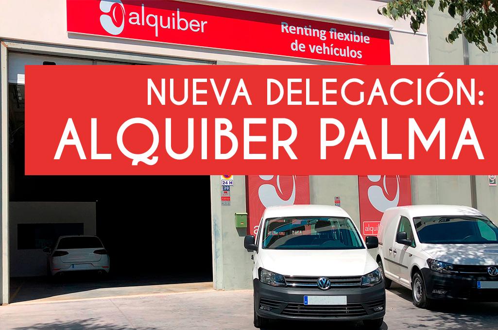 Alquiber continúa su expansión con la inauguración de su primera delegación en Palma de Mallorca