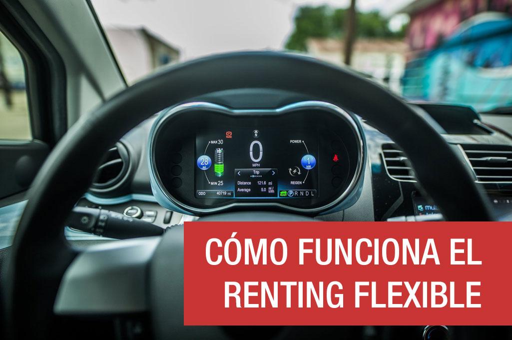 Cómo funciona el renting flexible