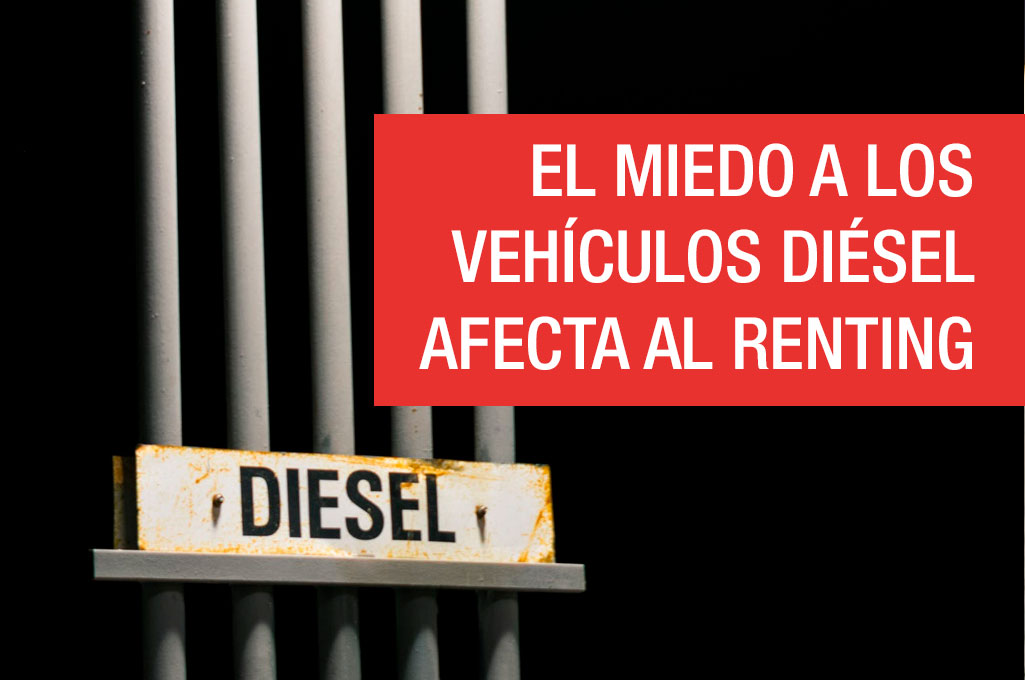 El miedo a los vehículos diésel afecta al renting