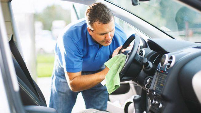 limpiar desinfectar correctamente tu coche