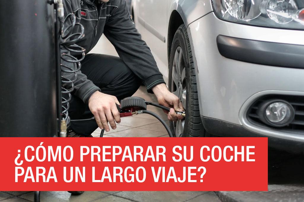 foto del artículo ¿Cómo preparar su coche para un largo viaje?