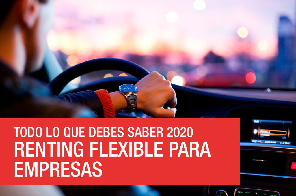 foto del artículo Renting flexible para empresas – Todo lo que debes saber 2020