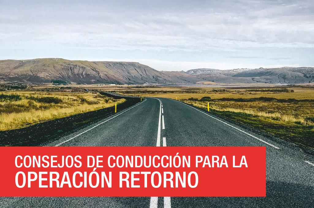 foto del artículo Consejos de conducción para la operación retorno