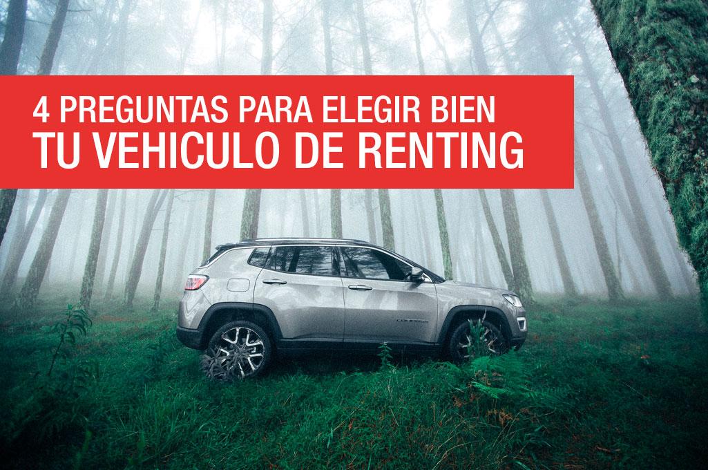 foto del artículo 4 preguntas para elegir bien tu vehículo de renting