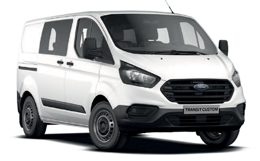 Ford Transit Custom 6 plazas