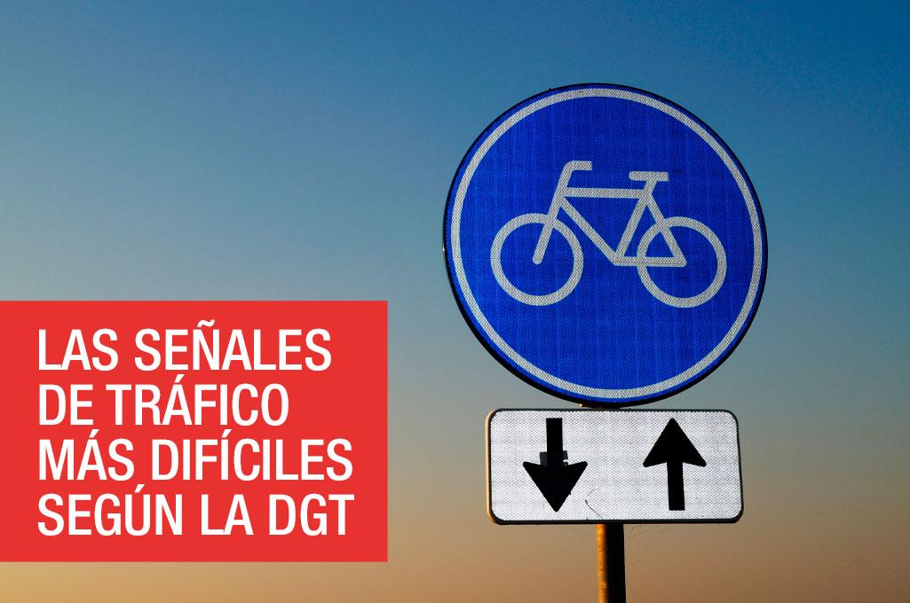 Las señales de tráfico más difíciles según la DGT