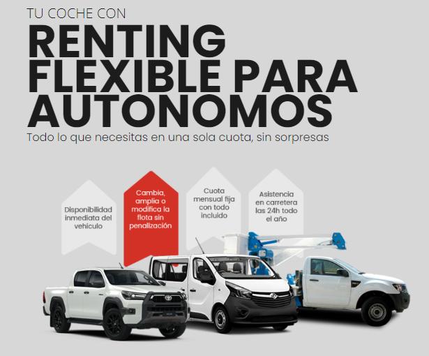 renting flexible autónomos